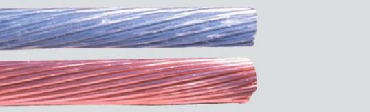 Многожични медни и алуминиеви жила - клас 2 - IEC 60228; DIN VDE 0295; BS 6360